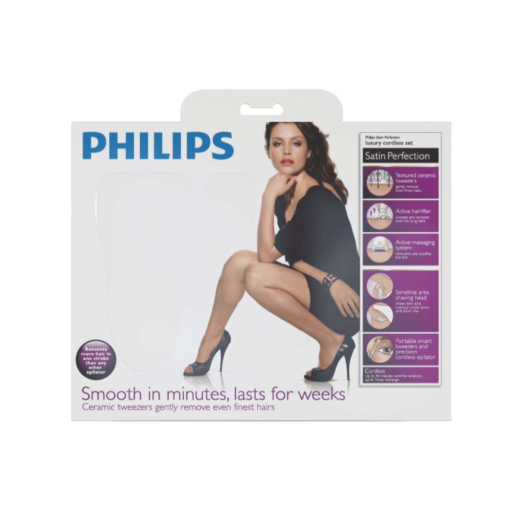 Merlindoras Blog: Philips Satin Perfect Epilierer